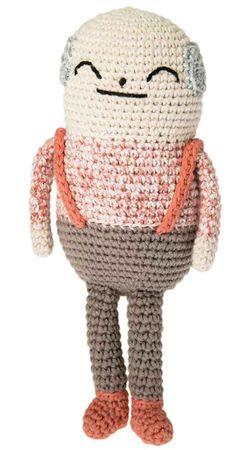Kit crochet amigurumi - Papi