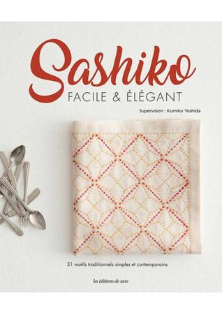 Livre sashiko facile & élégant