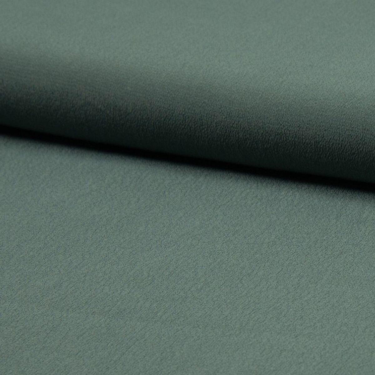 Tissu crêpe de viscose - Kaki