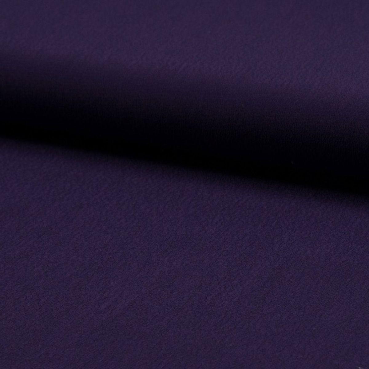 Tissu crêpe de viscose - Violet