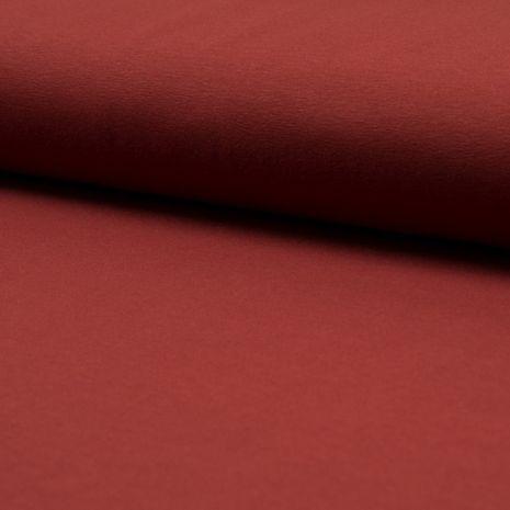 Tissu jersey coton - Terracotta