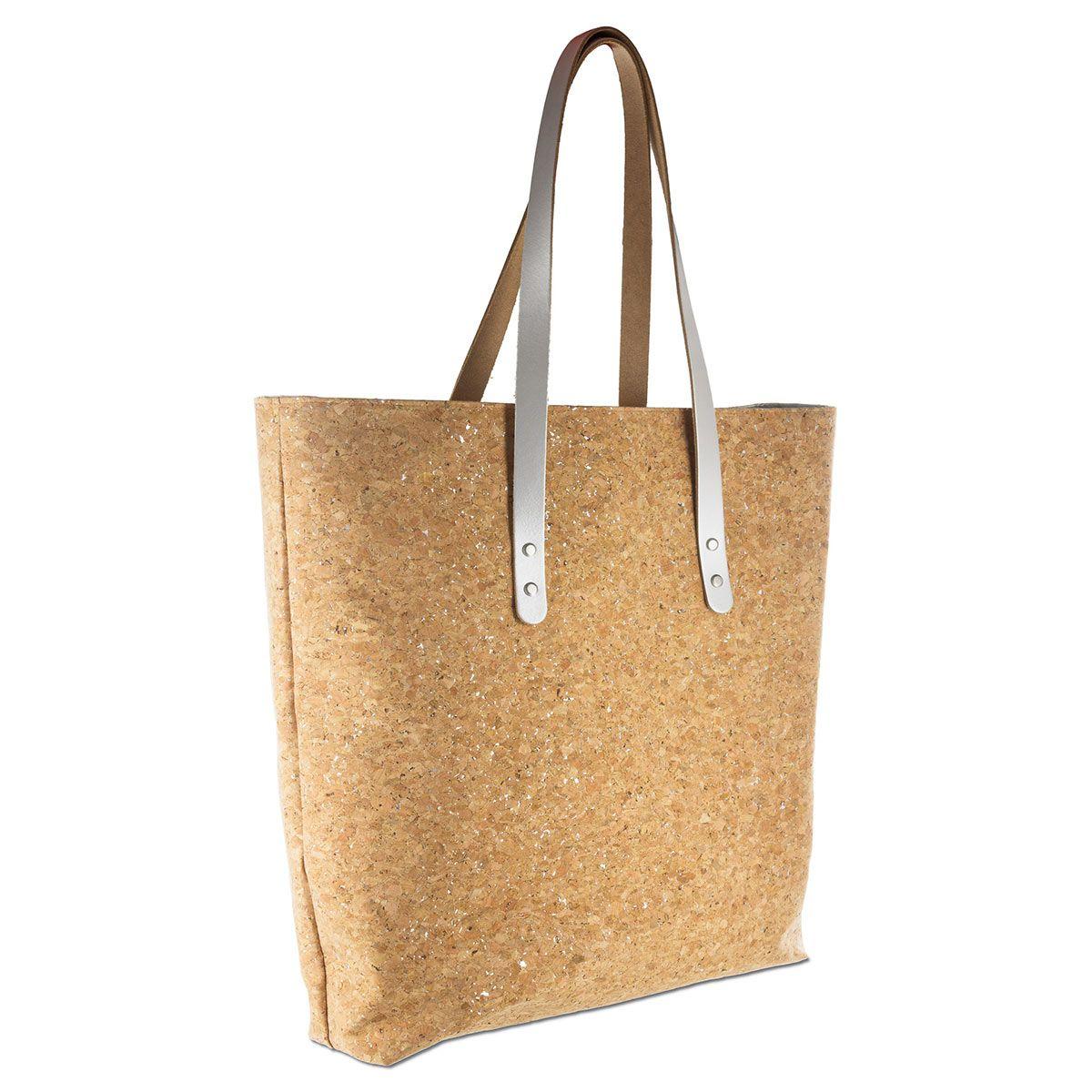 2 lanières tote-bag en cuir - 80 x 2 cm - Châtaigne