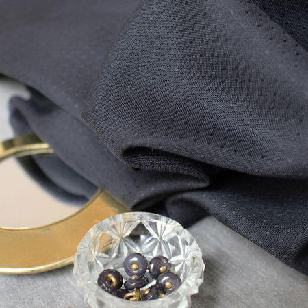 Tissu viscose plumetis Dobby Night - Atelier Brunette