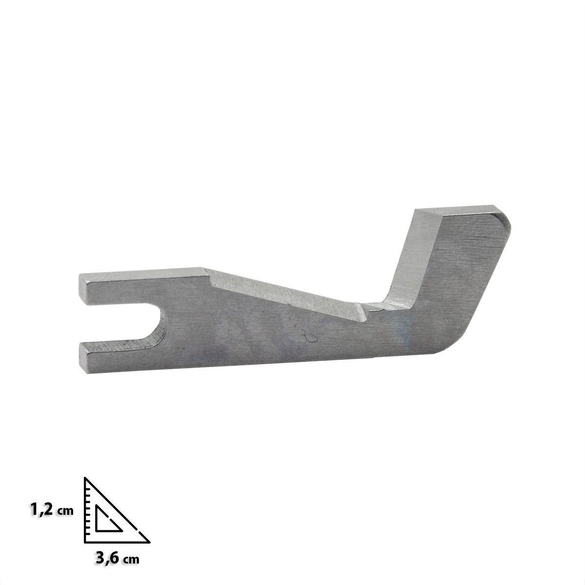 Couteau supérieur pour surjeteuses Bernina L450 et L460