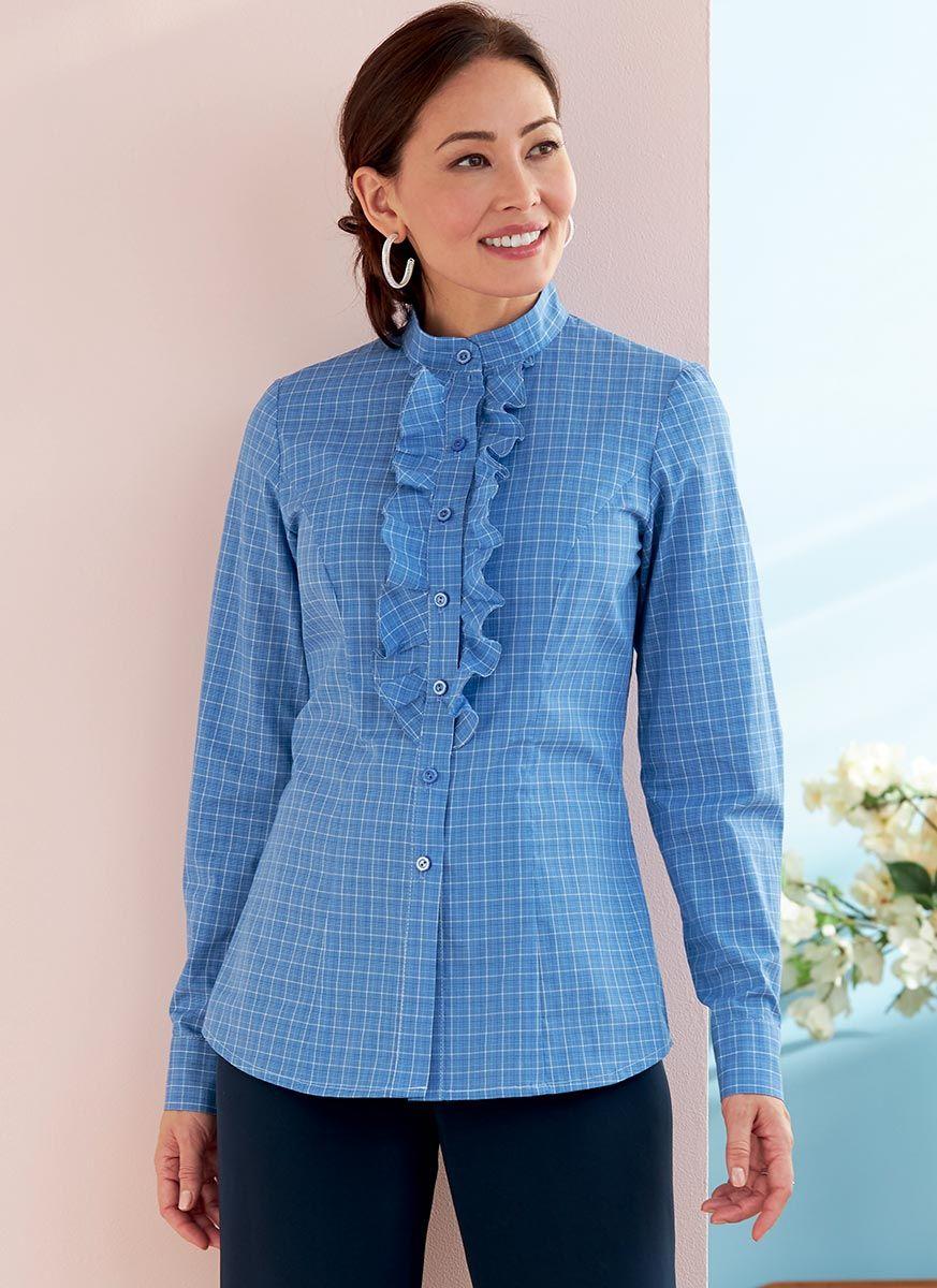 Patron de chemise - Butterick 6747