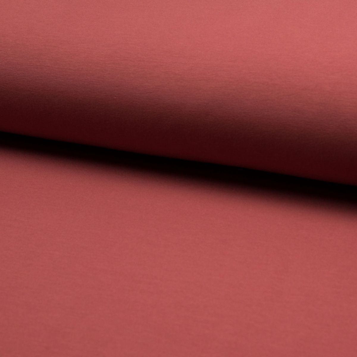 Tissu sweat BIO - Terracotta