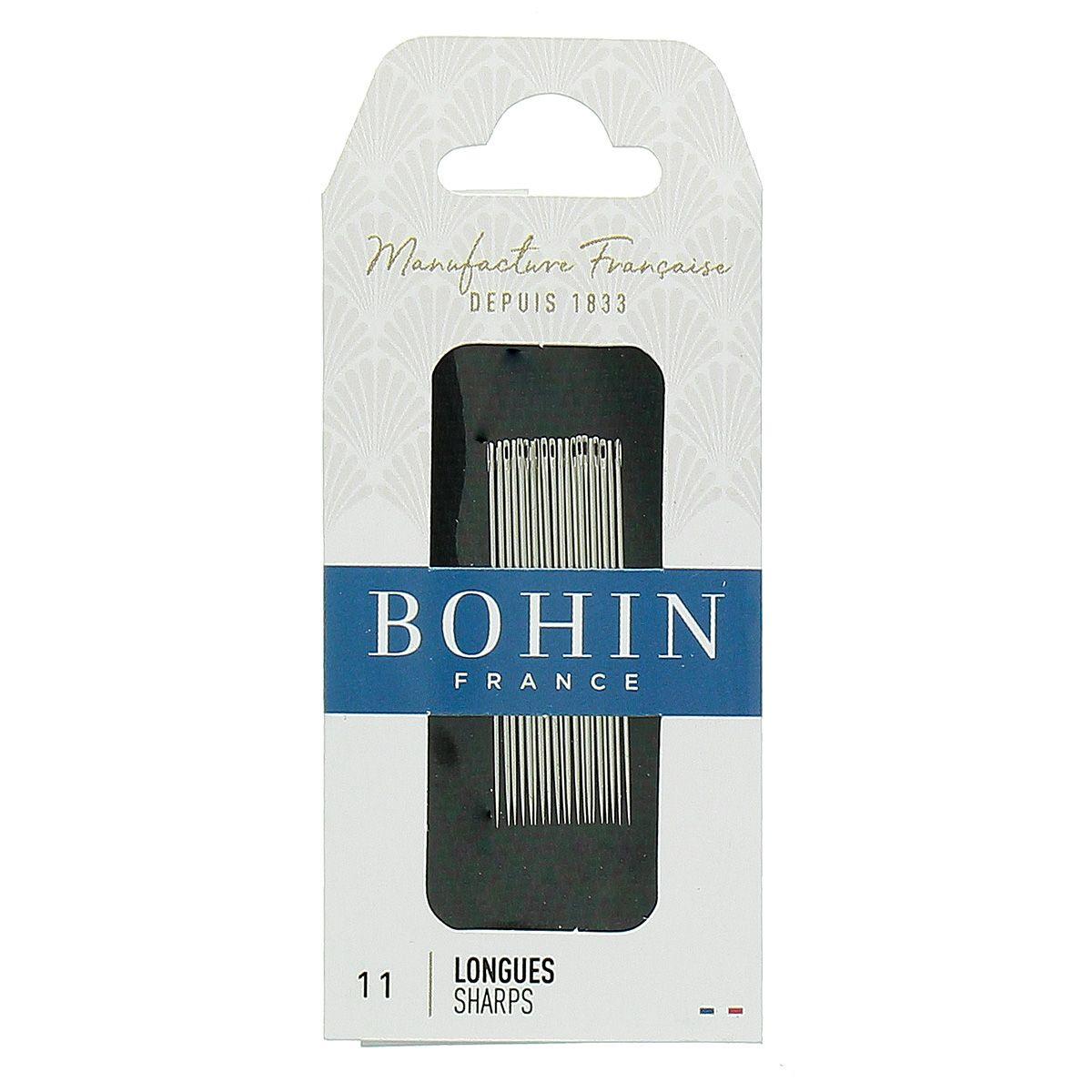 Aiguilles à coudre longues Bohin - N° 11