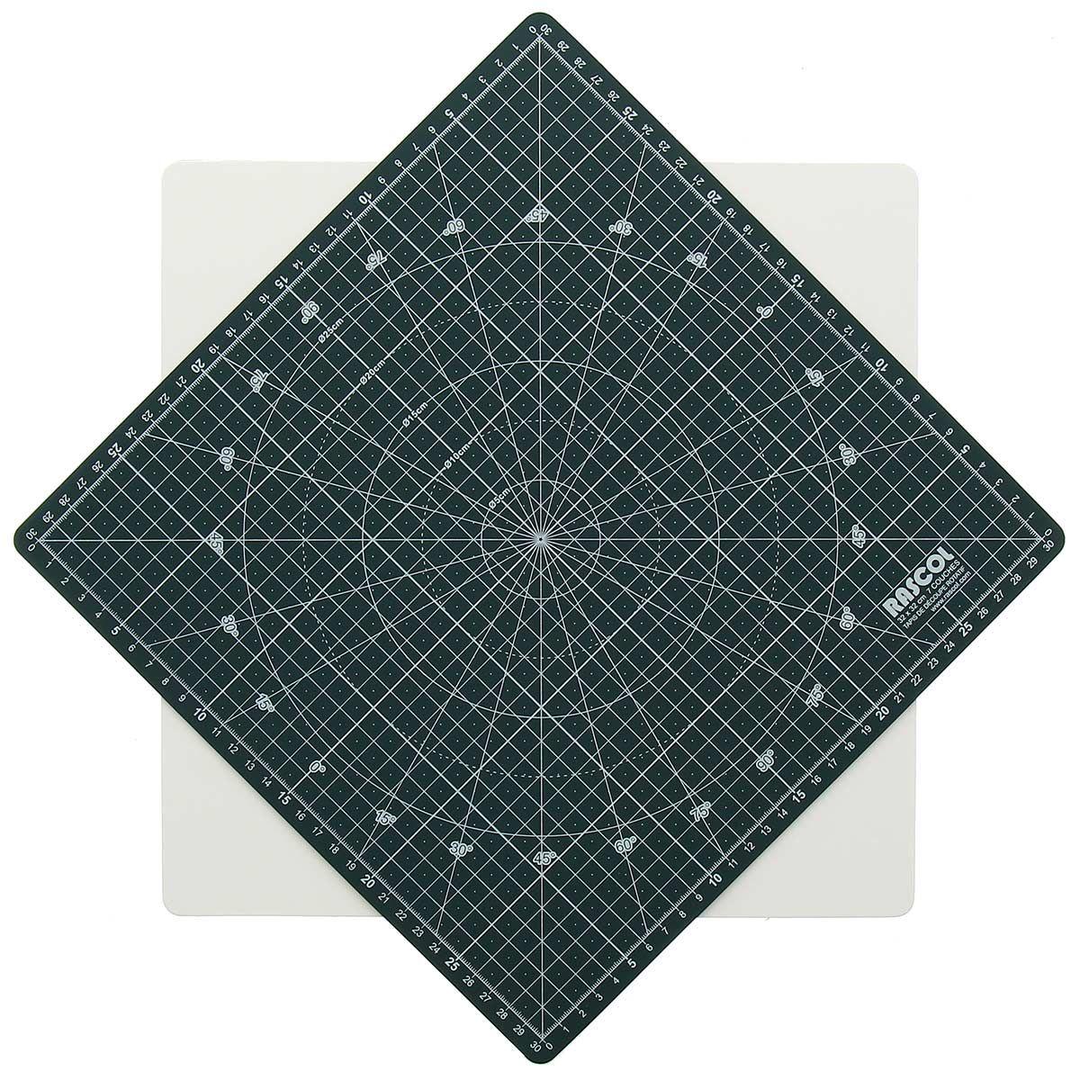 Tapis de découpe rotatif Rascol 30 x 30 cm