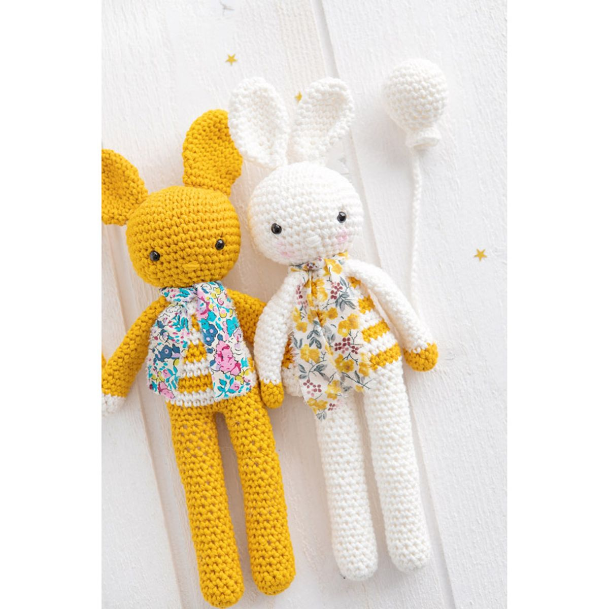 Kit doudous lapins en crochet - Need somebunny