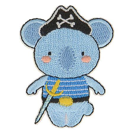 Motif animaux pirate - Koala