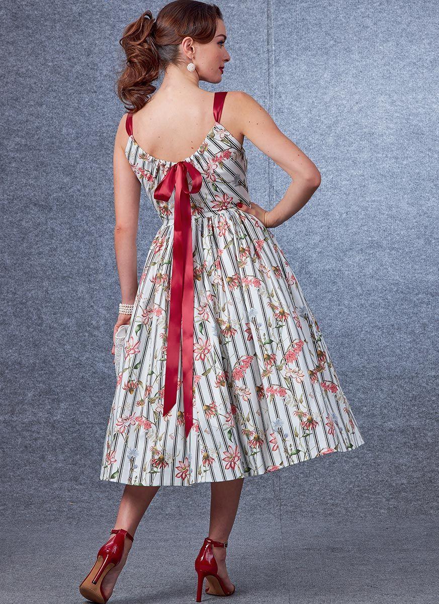 Patron de robe - Vogue 1696