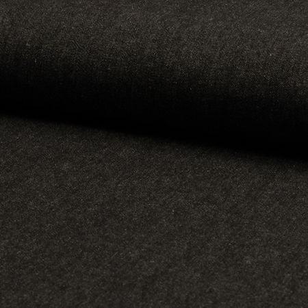 Tissu jeans - Noir