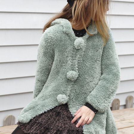 Modèle de manteau à poches