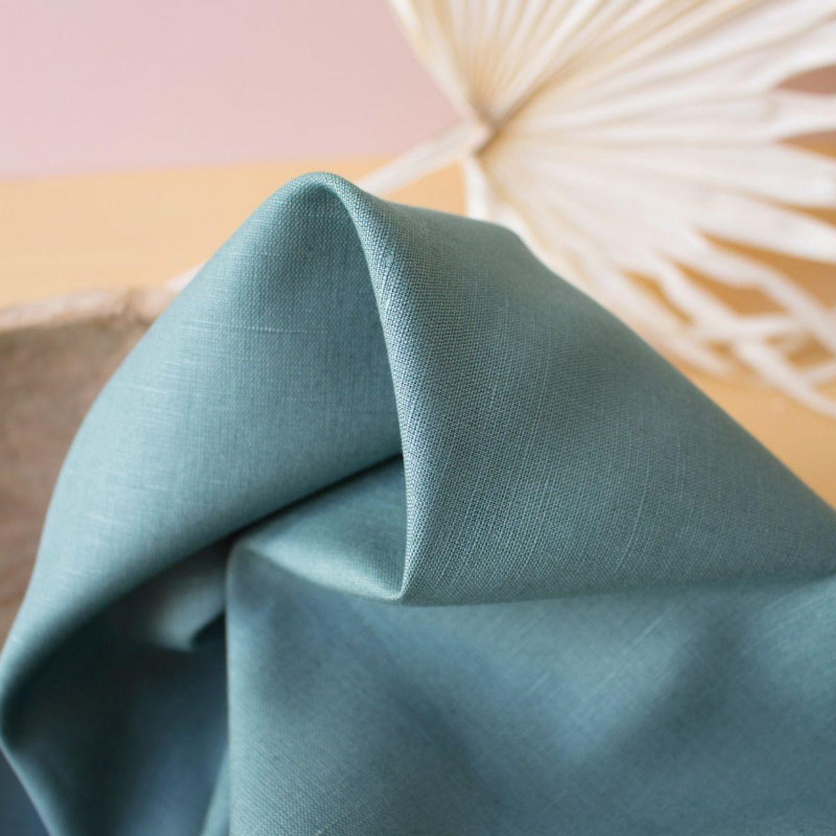Tissu linen Cactus - Atelier Brunette