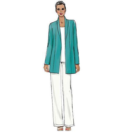 Patron de veste, short et pantalon - Vogue 9011