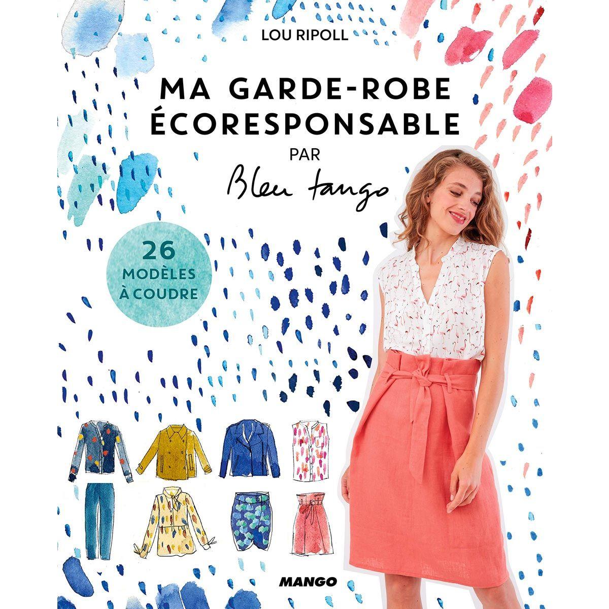 Livre ma garde-robe ecoresponsable - 26 modèles à coudre