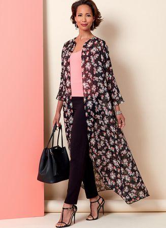 Patron de veste, robe et pantalon - Butterick 6802