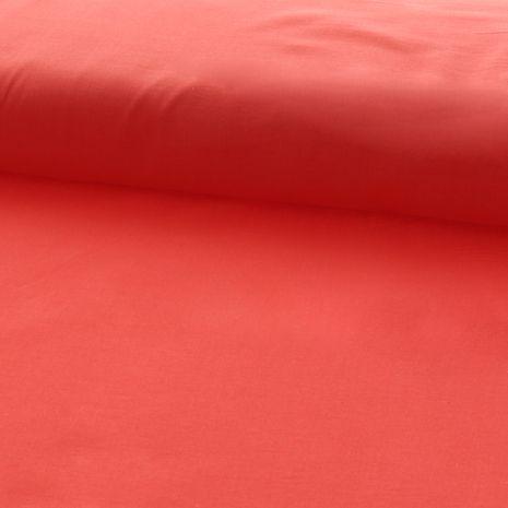 Tissu voile de coton - Corail
