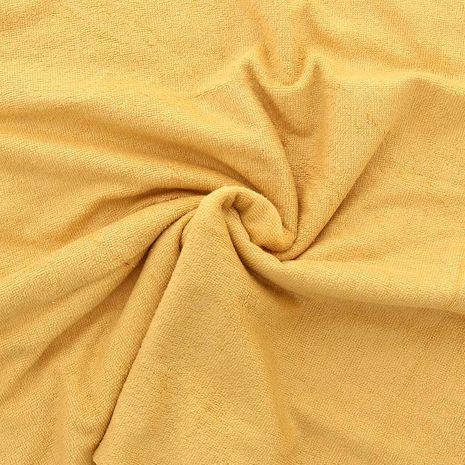 Tissu micro éponge de bambou - Moutarde