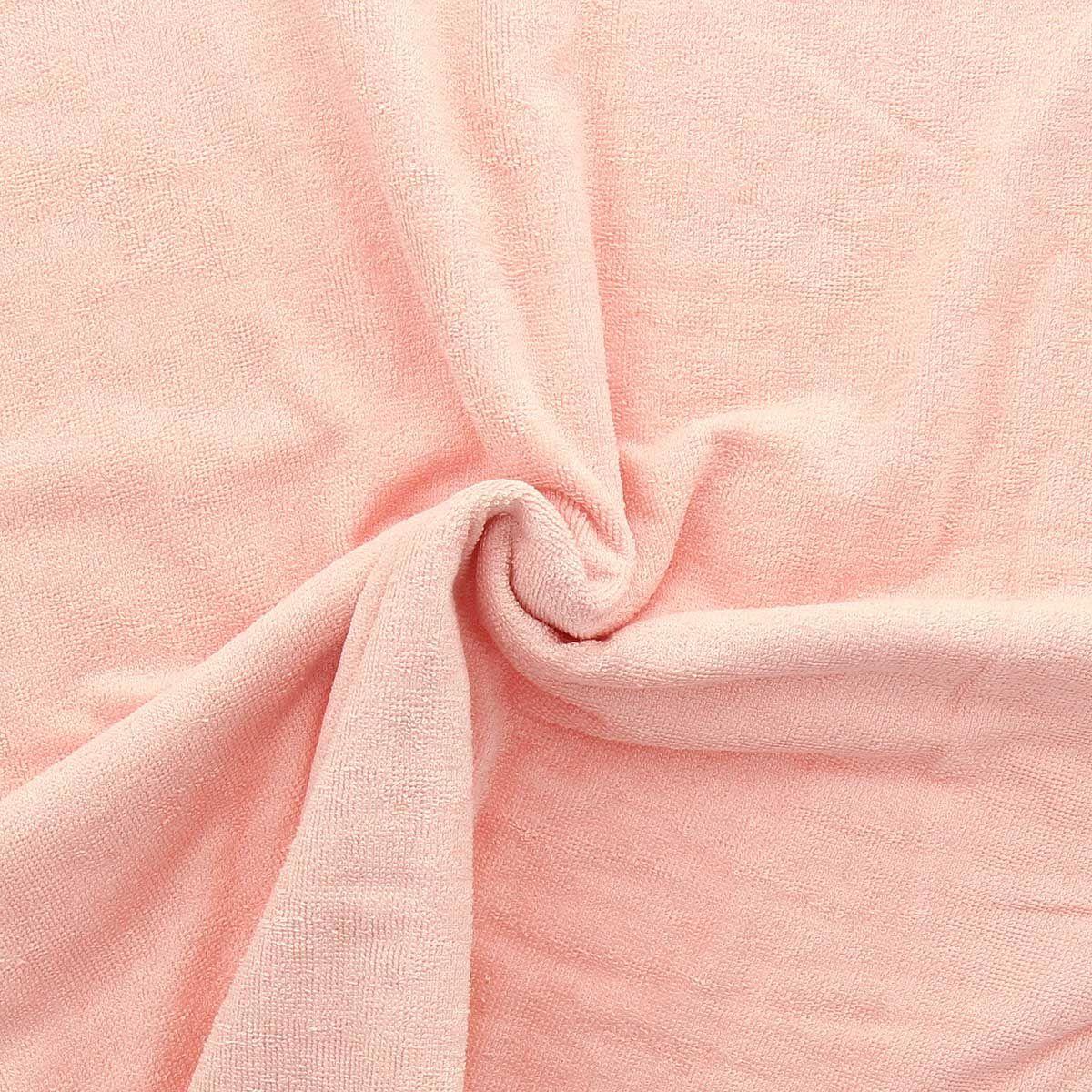 Tissu micro éponge de bambou - Blush