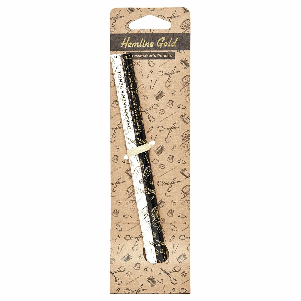 Set de 2 crayons à marquer effaçables à l´eau - Noir et blanc