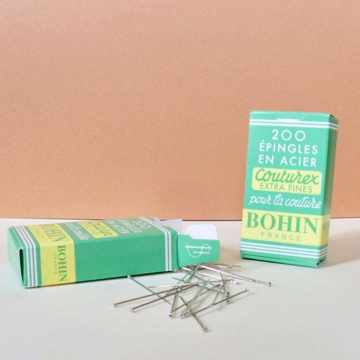 Boite de 10 grs épingles extra-fines Bohin