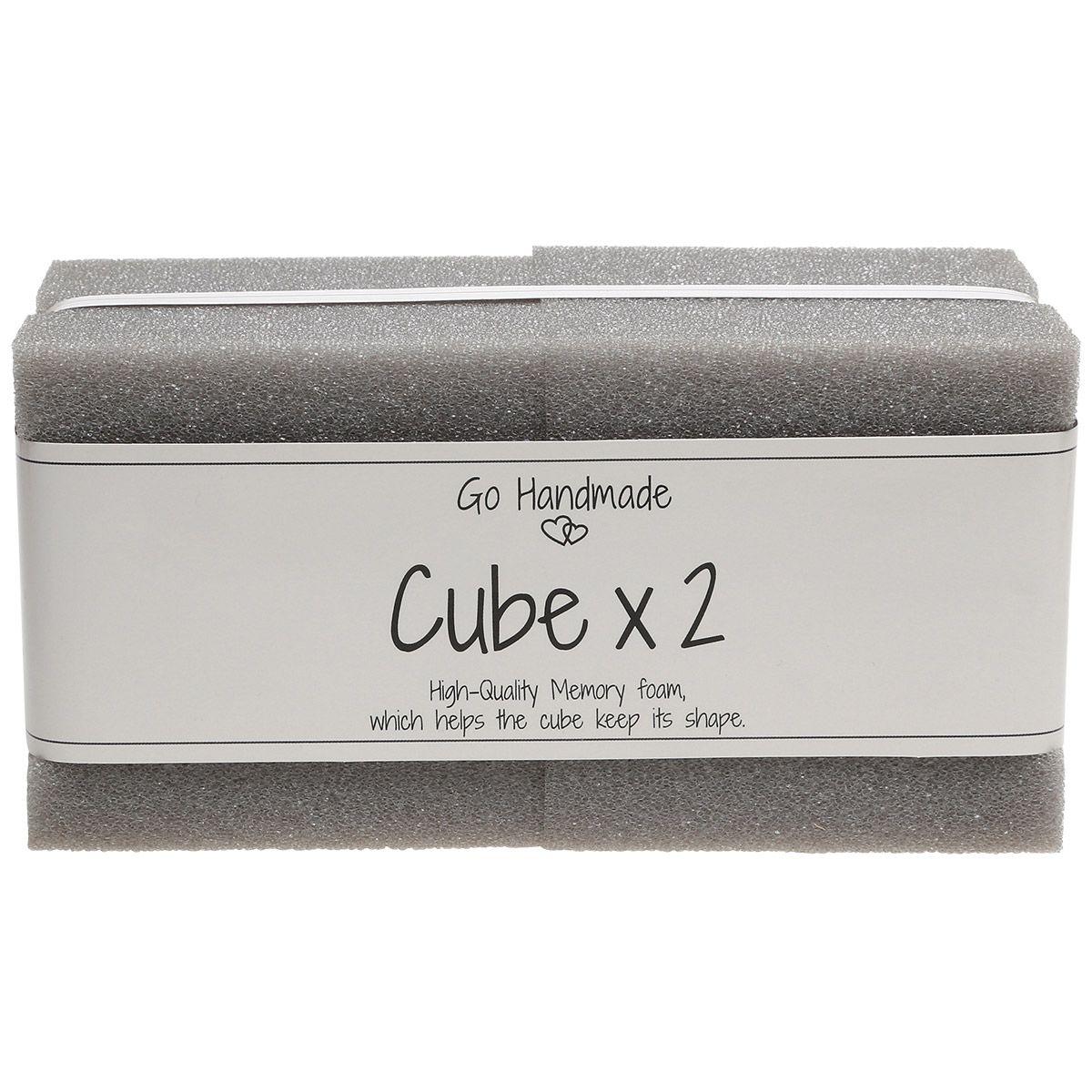 Cubes de mousse pour jouets d´éveil 8 cm x 8 cm