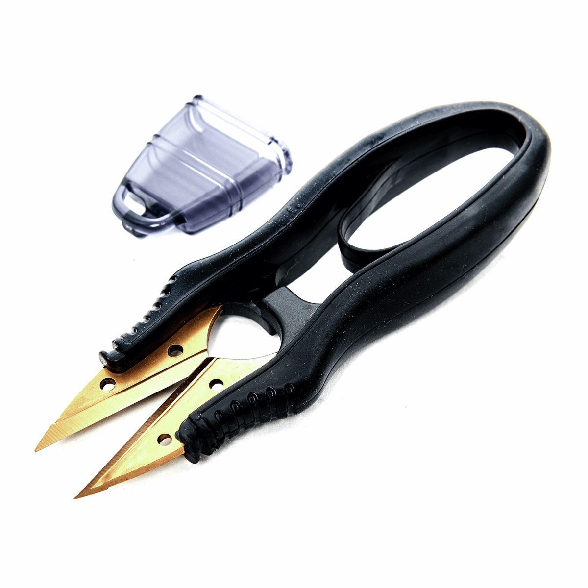 Coupe fil noir avec lames dorées
