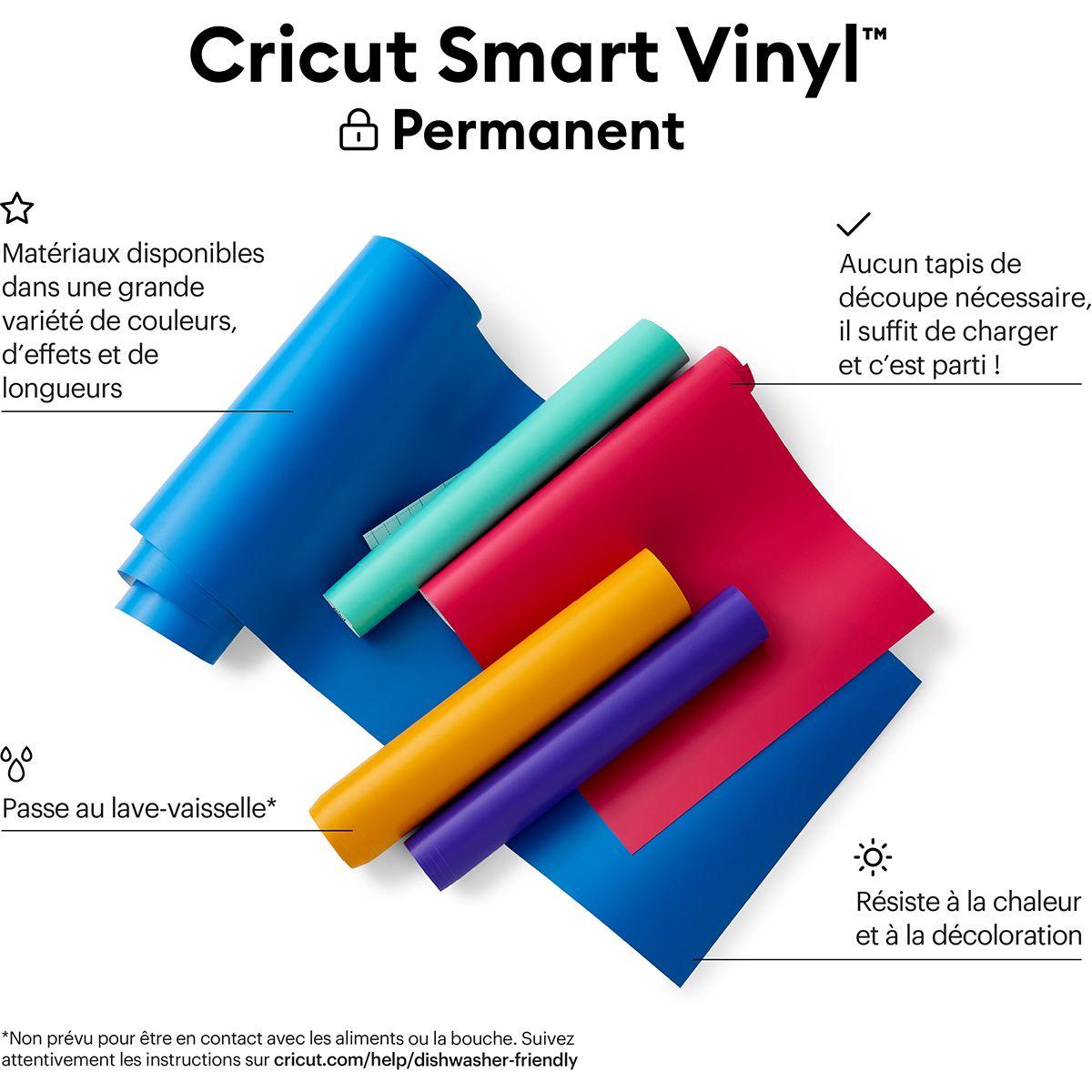 Film vinyle permanent 33 cm x 640 cm Cricut
