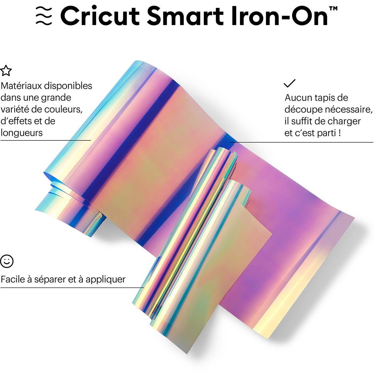 Flex thermocollant holographique 33 cm x 274 cm Cricut