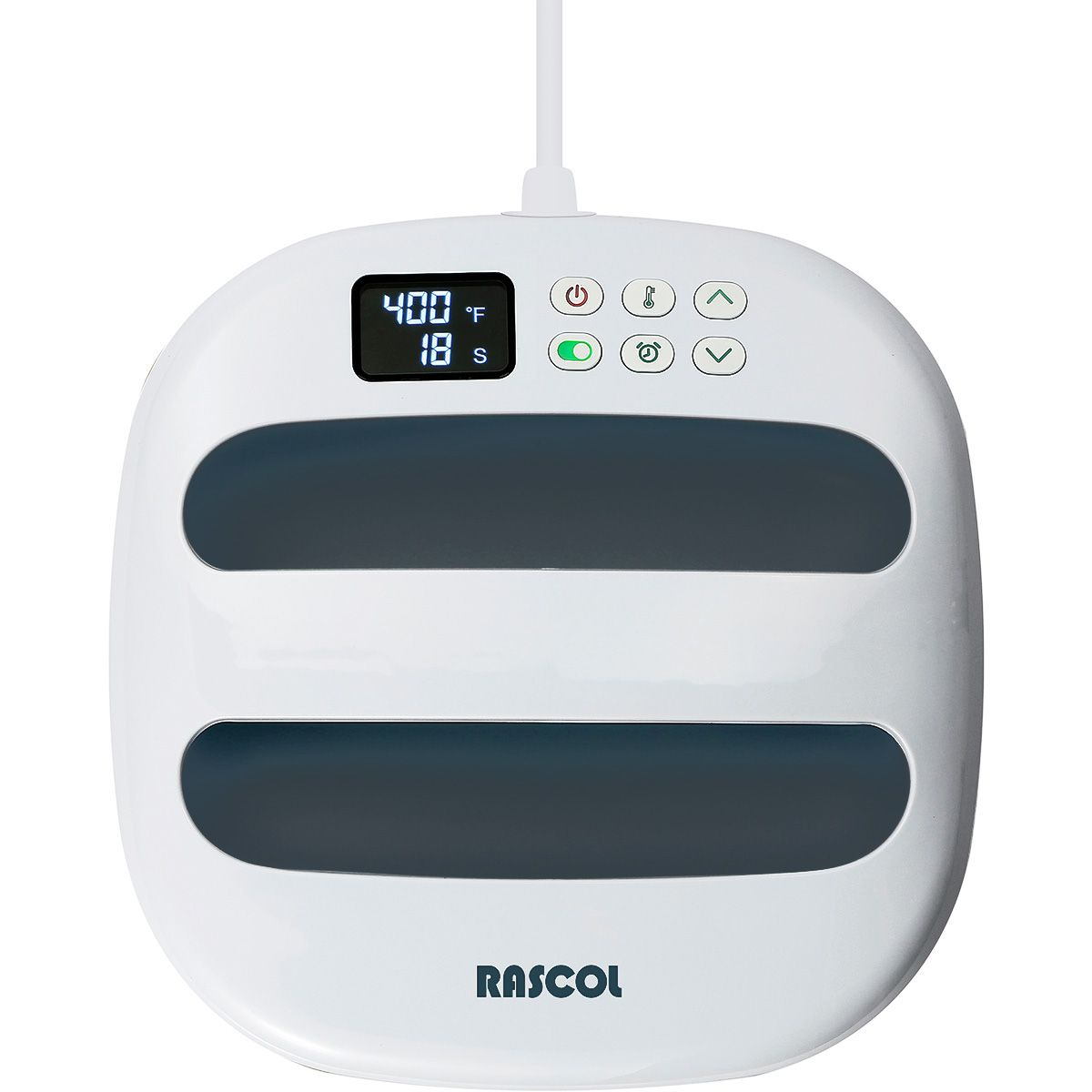 Presse à chaud portable Rascol - 22,5 cm x 22,5 cm