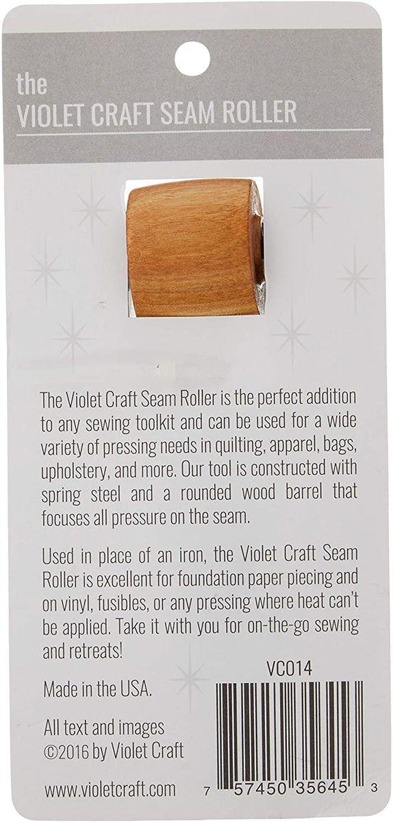 Roulette en bois pour presser Violet Craft