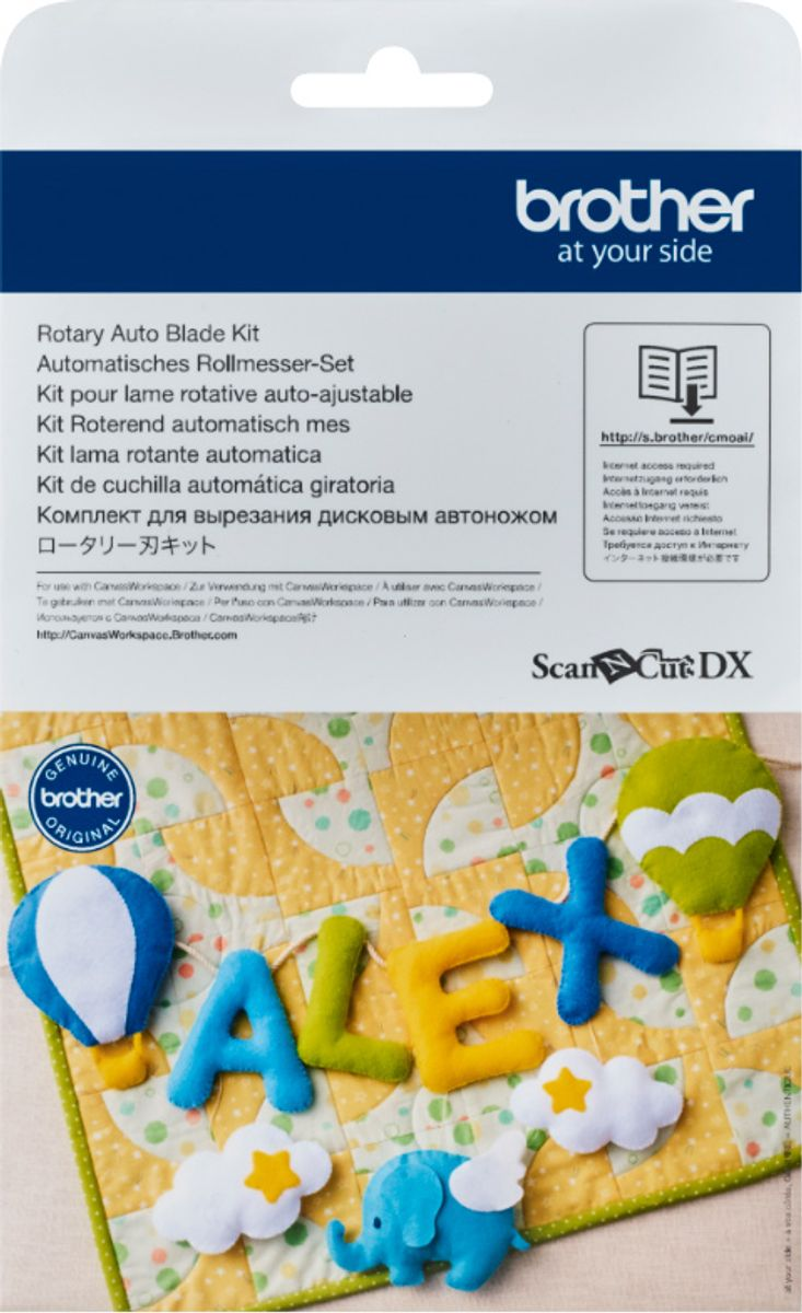 Kit pour lame rotative auto-ajustable ScanNCut SDX