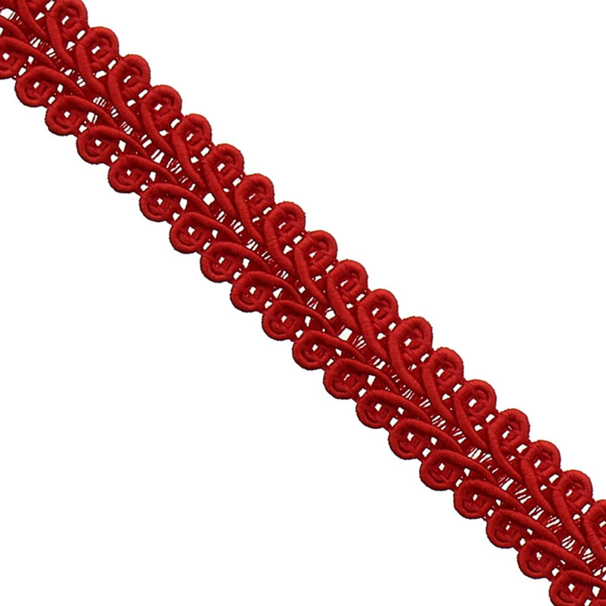 Galon épi style Chanel - Rouge
