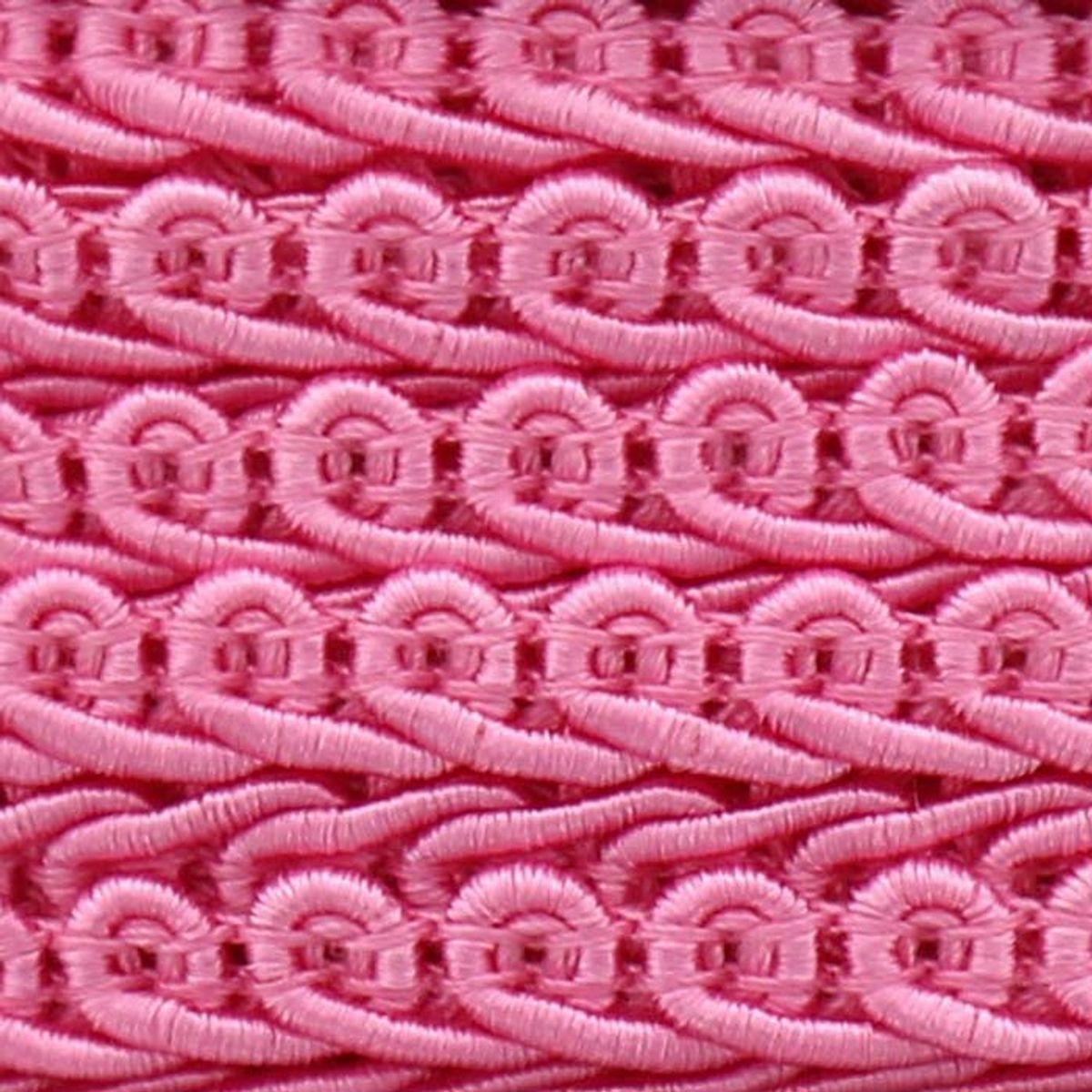 Galon épi style Chanel - Rose vif