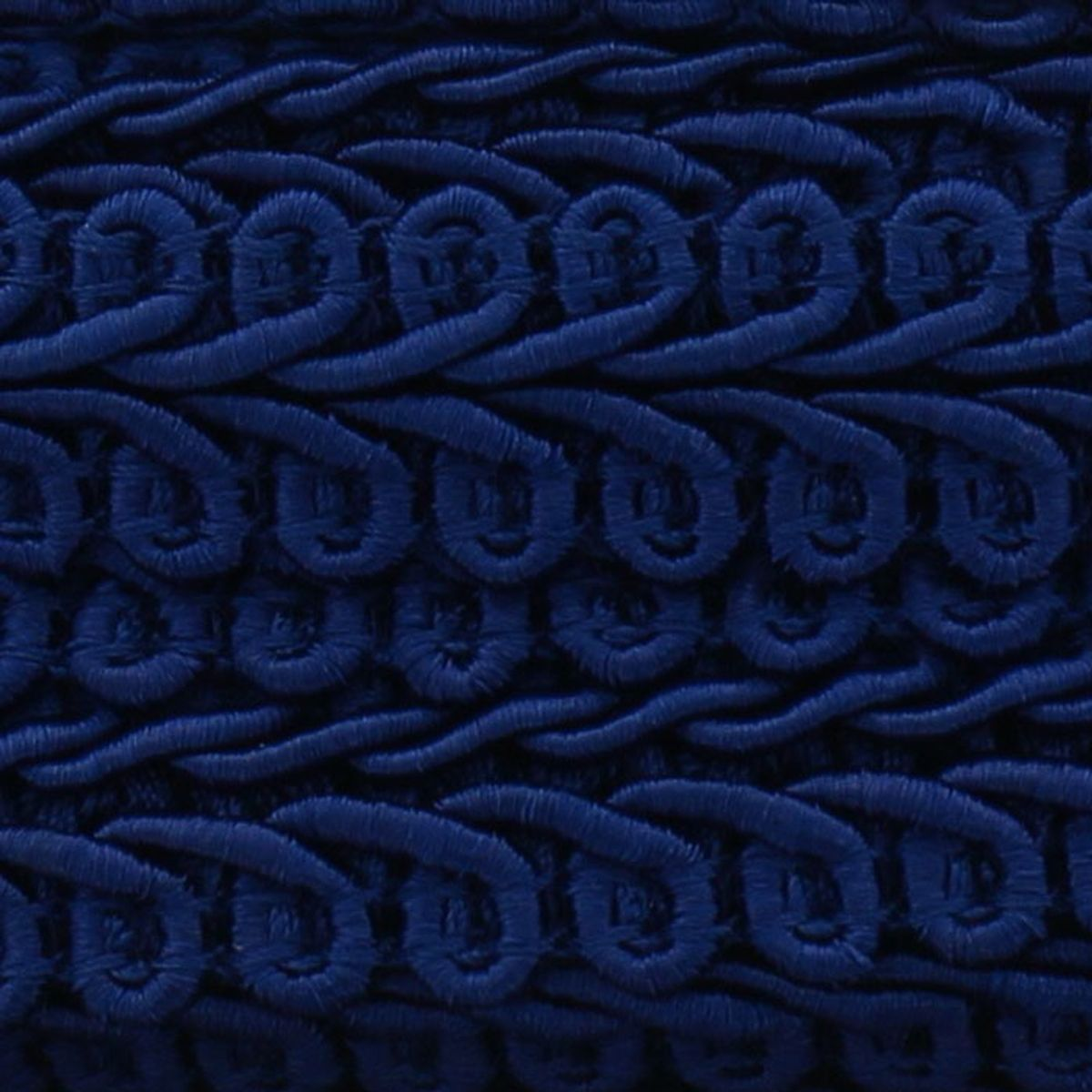 Galon épi style Chanel - Bleu marine