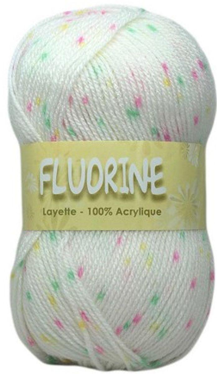 Sachet de 2 pelotes de fils à tricoter Fluorine