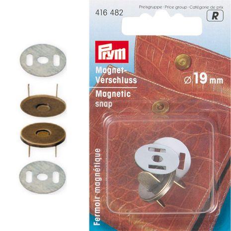 Fermoir magnétique à riveter - Bronze