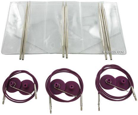 Trousse aiguilles à tricoter circulaires KnitPro Starter Nova Metal