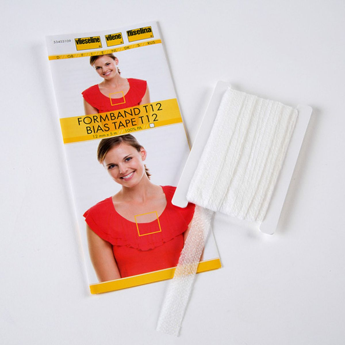 Vlieseline Stabilmanche - Blanc