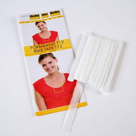 Vlieseline Stabilmanche - Blanc - Pièce de 5 mètres