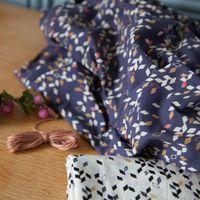 Tissu coton Twist Dark blue - Atelier Brunette