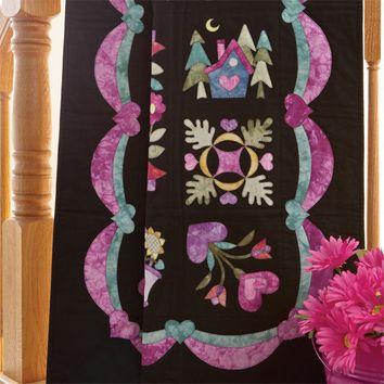 Paquet de 12 feutres textiles pailletés Darwi