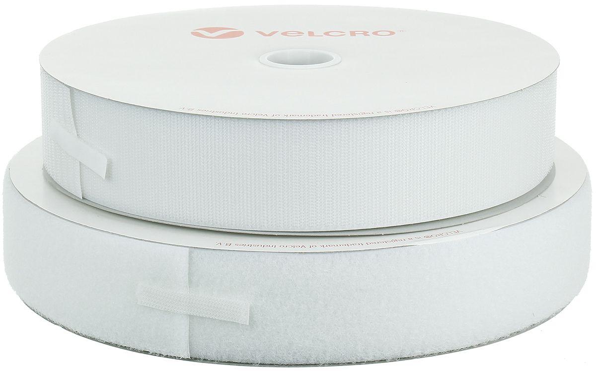 VELCRO® Brand à coudre blanc 50 mm de large rouleau de 25 mètres