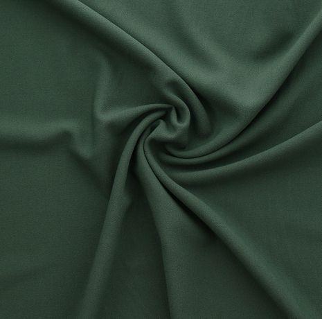 Tissu crêpe viscose - Vert sapin