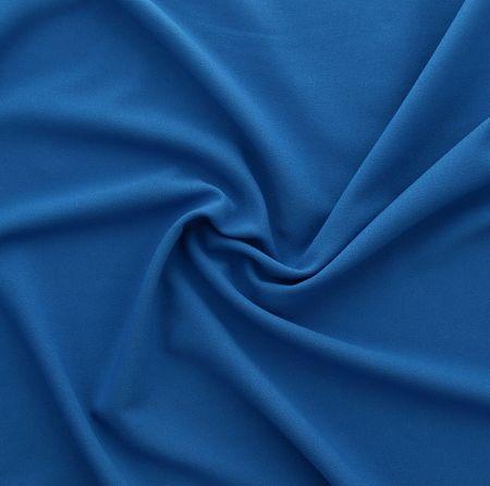 Tissu crêpe viscose - Bleu roy