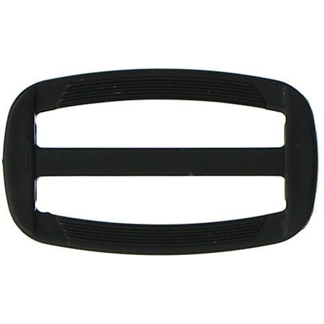 Boucle coulissante plastique noir 40 mm
