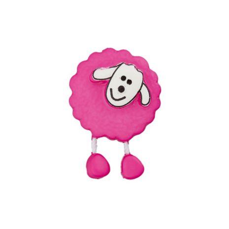 Bouton mouton fuchsia