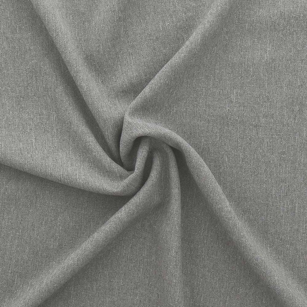 Tissu toile de tweed - Gris clair