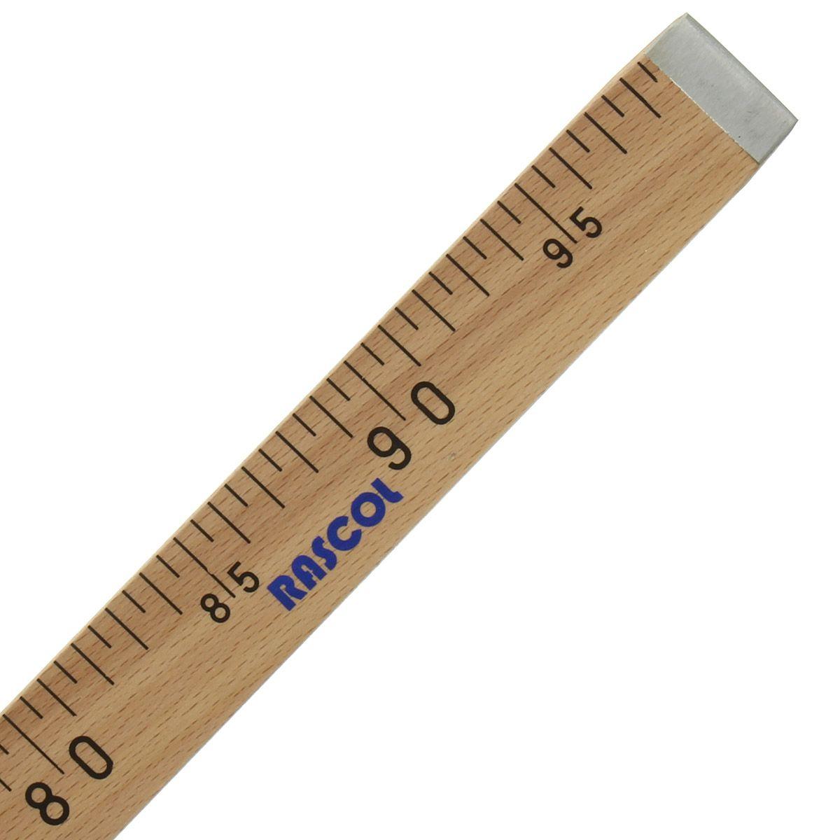 Règle mètre bois de couturier